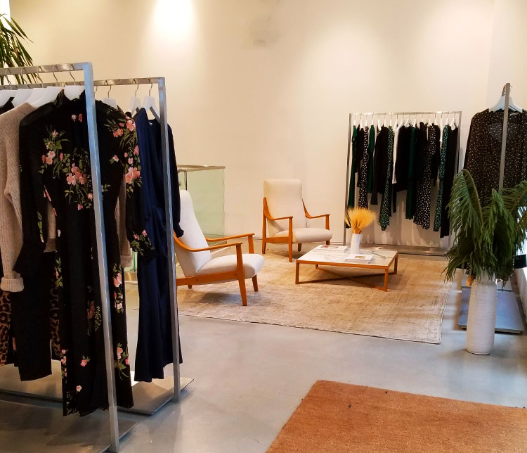 Inside the Reformation Boutique