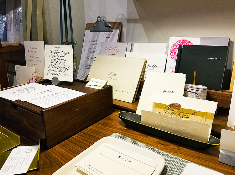 An Assortment of Samples and Calligraphy.