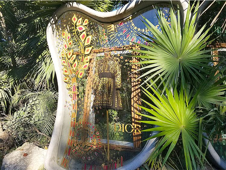 Dior Window in Tulum