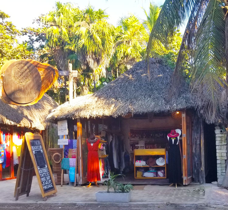 A Shop In A Palapa in Tulum