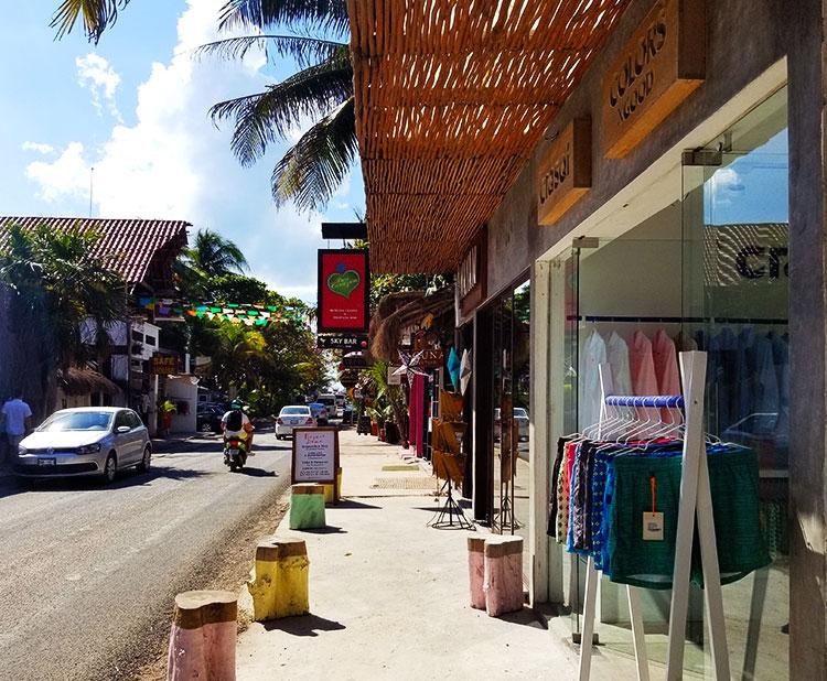 Open Front Shops in Tulum