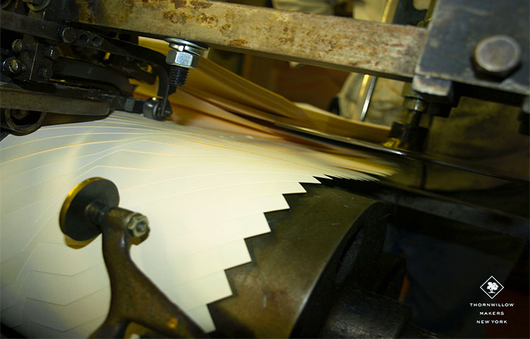 Envelopes Being Made on a Dedicated Machine