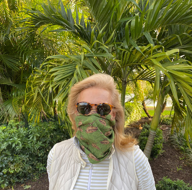 Karen Klopp and Hilary Dick article for New York Social Diary examines masks and other face protection in time of coronavirus