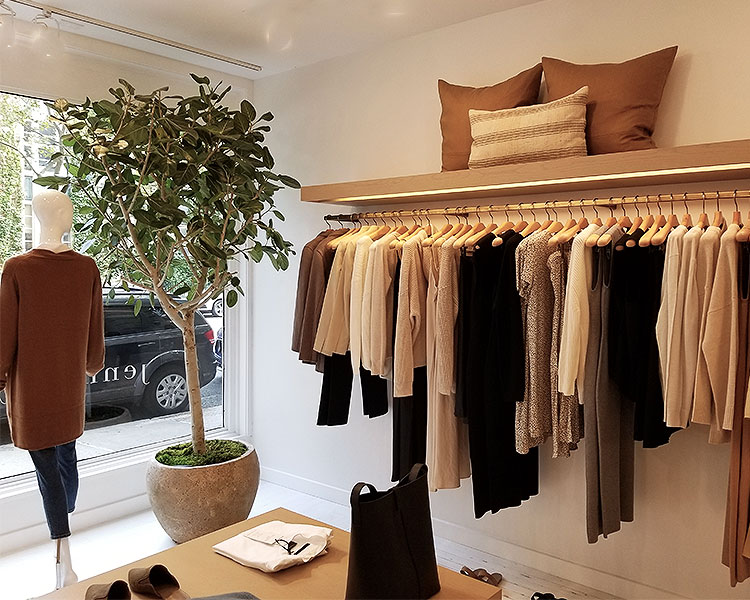 Warm Neutral Colors Glow in this store