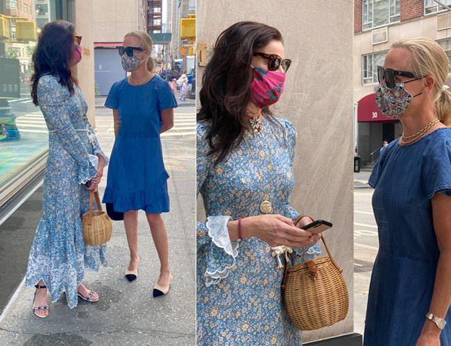 Karen Klopp, Hilary Dick, New York Social Diary shop Madison Avenue, New York, Jennifer Creel, Hermes