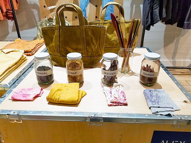 Organic Dye at Alex Mill