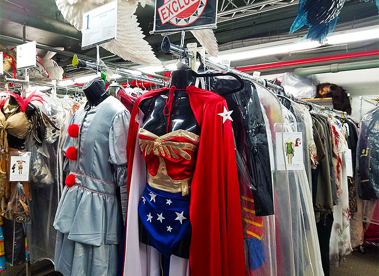 Super-Hero And Other Costumes for Rent