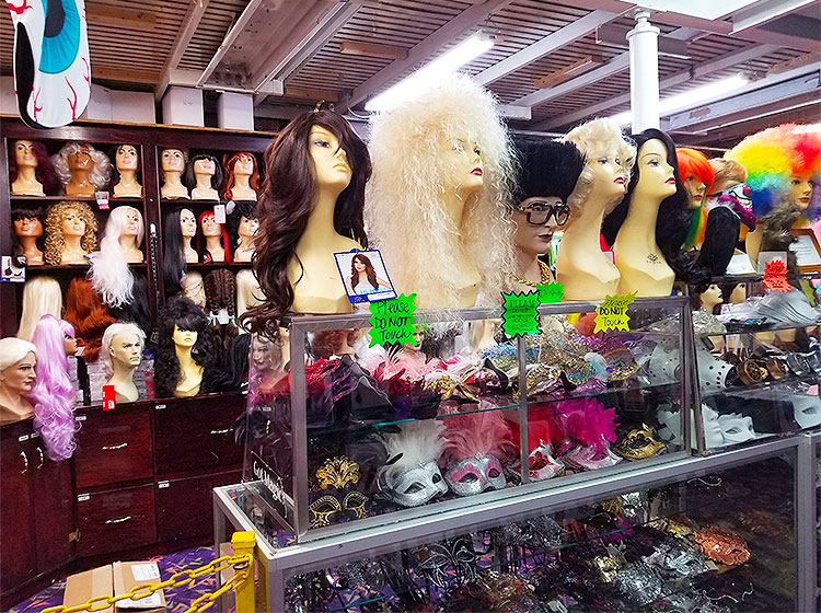 A Very Large Assortment of Wigs