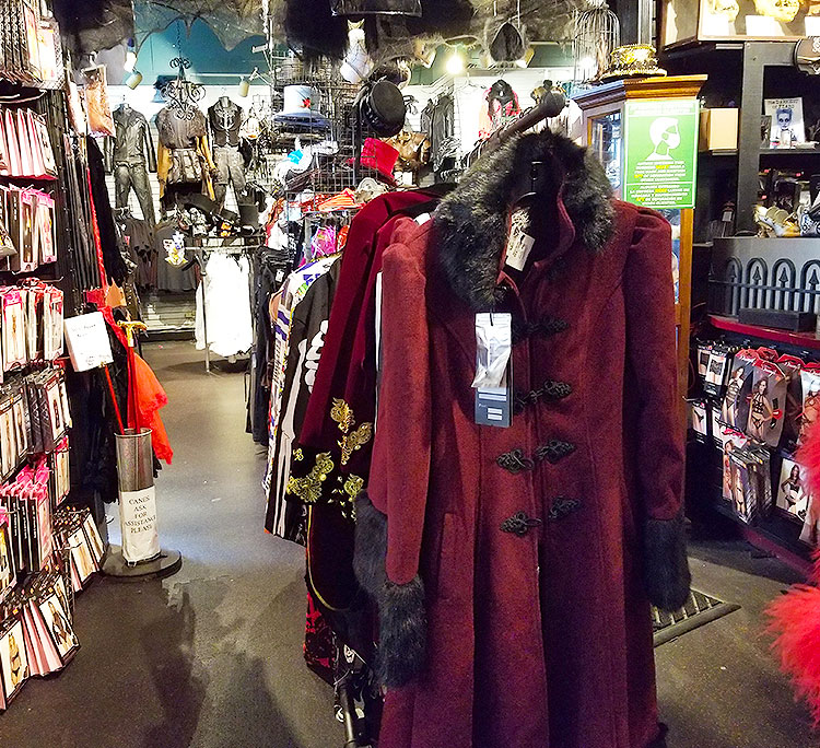 Coats and Jackets for costumes