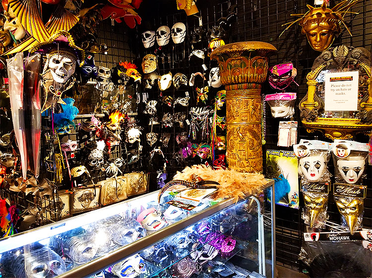 Costume masks for halloween