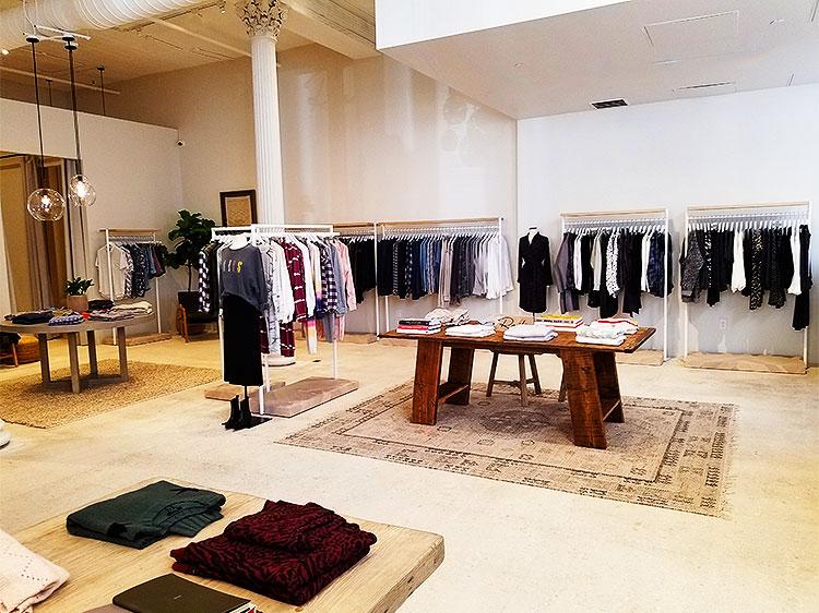 Men's Clothing in Soho new store