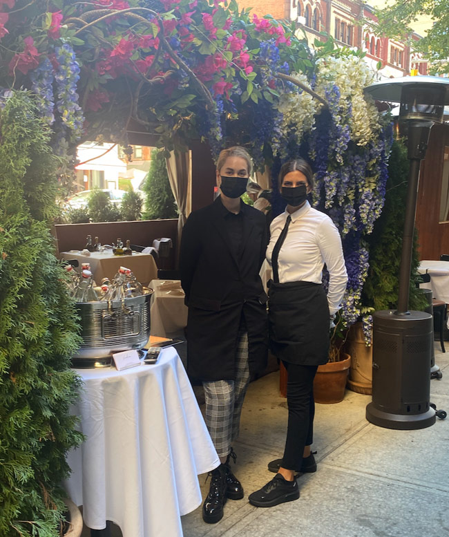 New York Social Diary Karen Klopp & Hilary Dick article on Carnegie Hill.   Vicolino