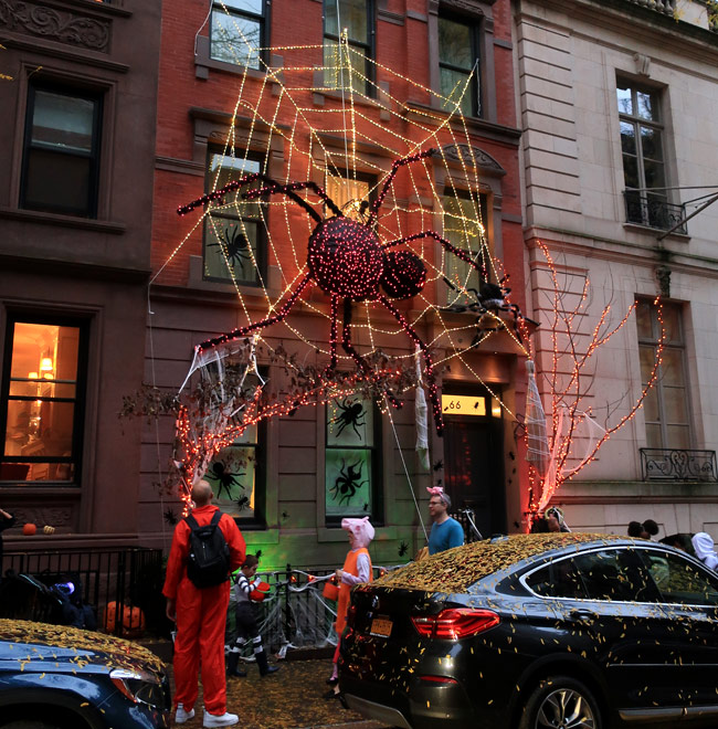 Karen Klopp & Hilary Dick article for New York Social Diary What to wear Halloween 2020.