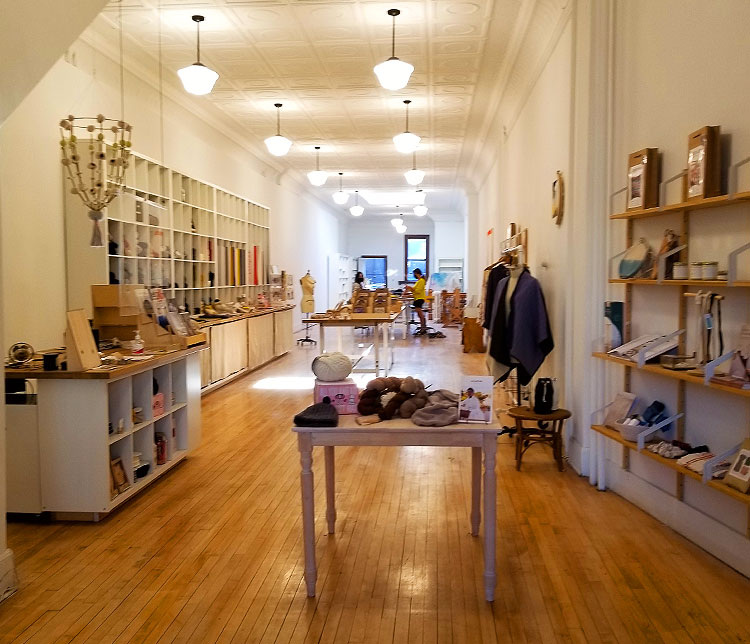 A Cool Shop for Crafts