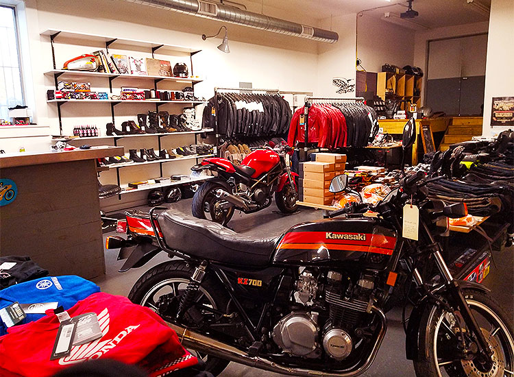 The Moto Caffe/Machine bikes