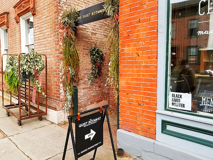 The Outside of The Quiet Botanist