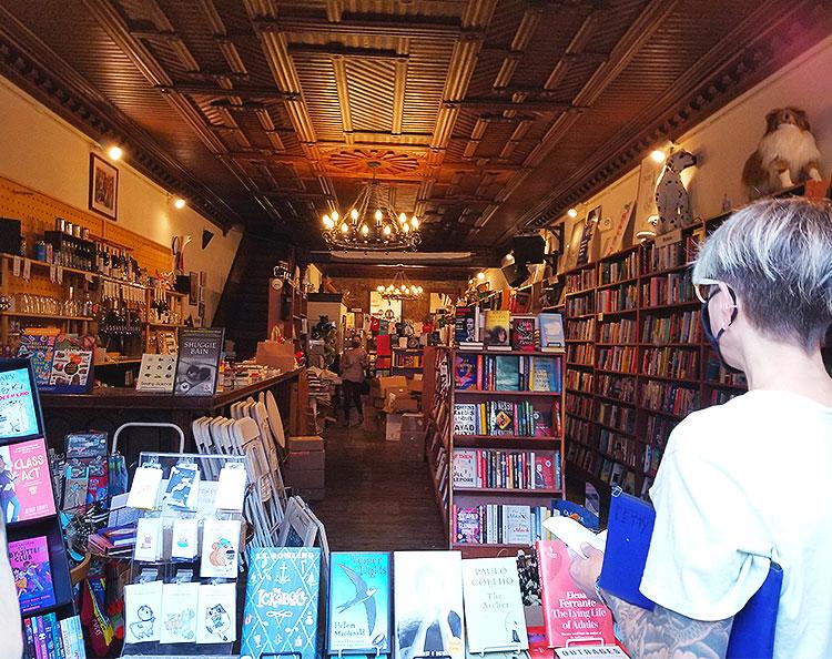 The Spotty Dog Books & Ale