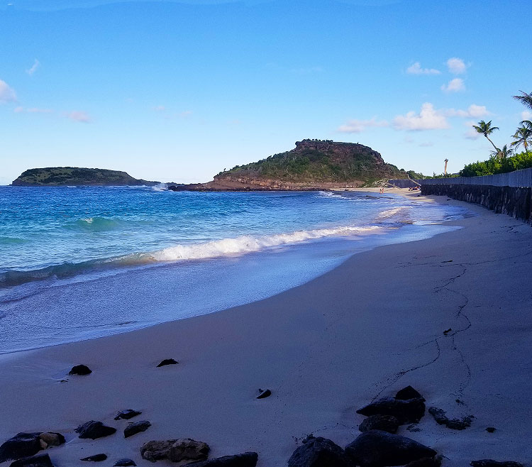 Anse de Marechal in The Afternoon