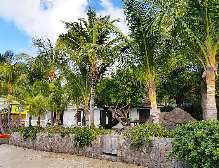 The Christian Liagre Villa on Marigot.