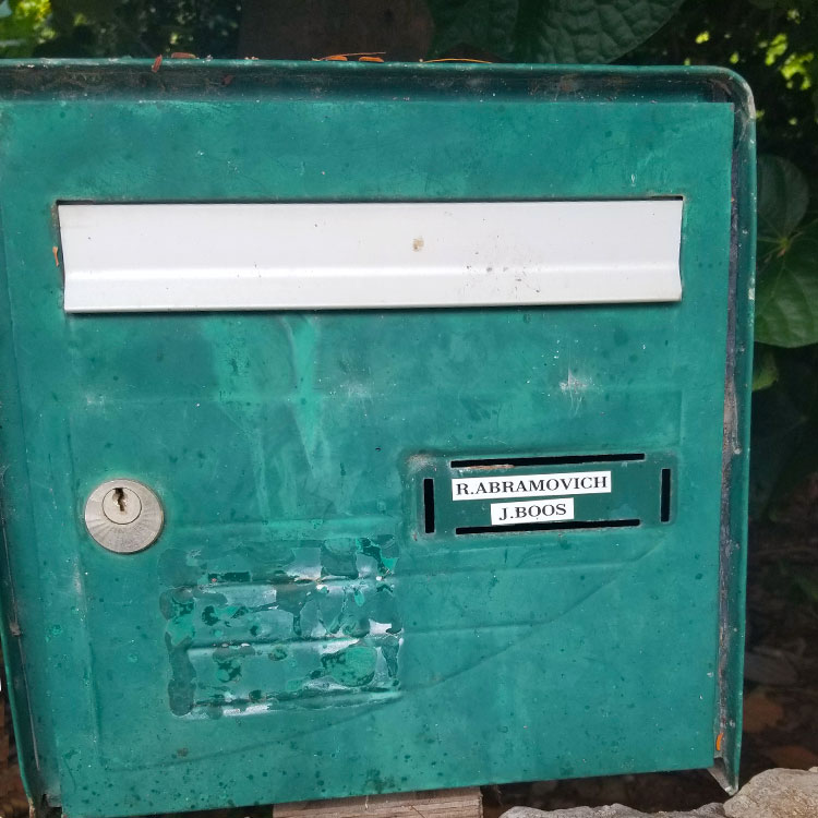 A Simple Mailbox for A Billionaire.