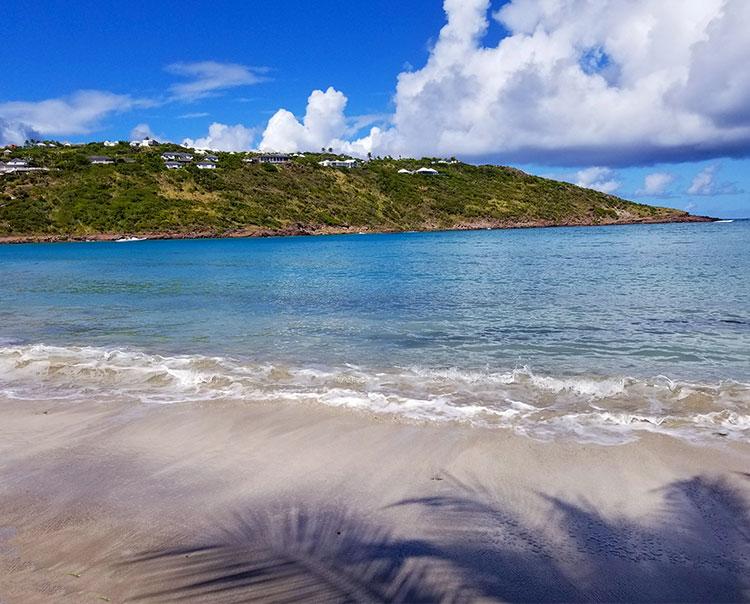 Marigot Beach.