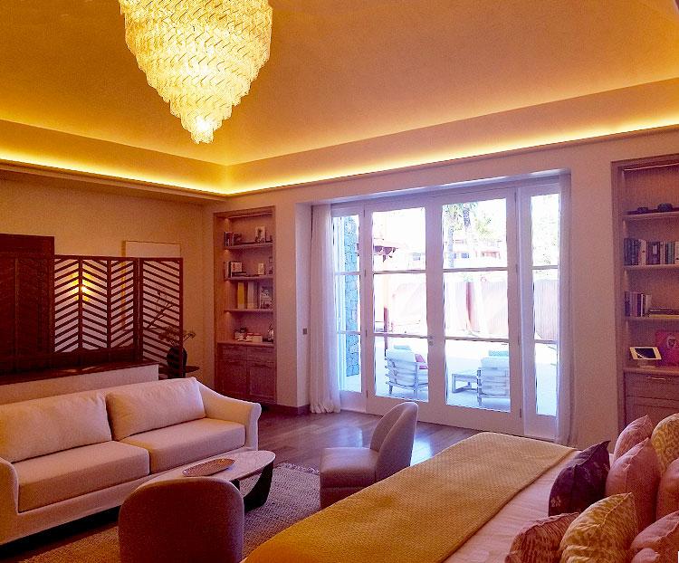 The Master Suite of Villa Nina.