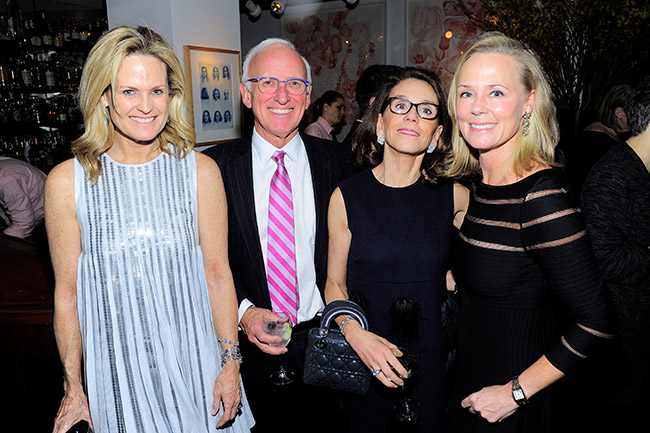 New York Social Diary article by Karen Klopp & Hilary Dick on What to wear to the Society Of memorial Sloan Kettering's Annual Winter Lunch.  Ashley McDermott, Peter Webster, Martha Webster, and Hilary Dick at The Society of Memorial Sloan Kettering Dream Team Dinner.