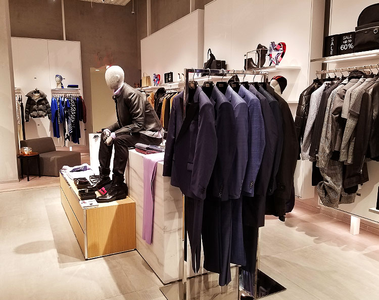 Men's Suits and Casual Clothing