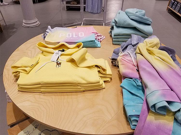 Ralph Lauren Tie-Dyes