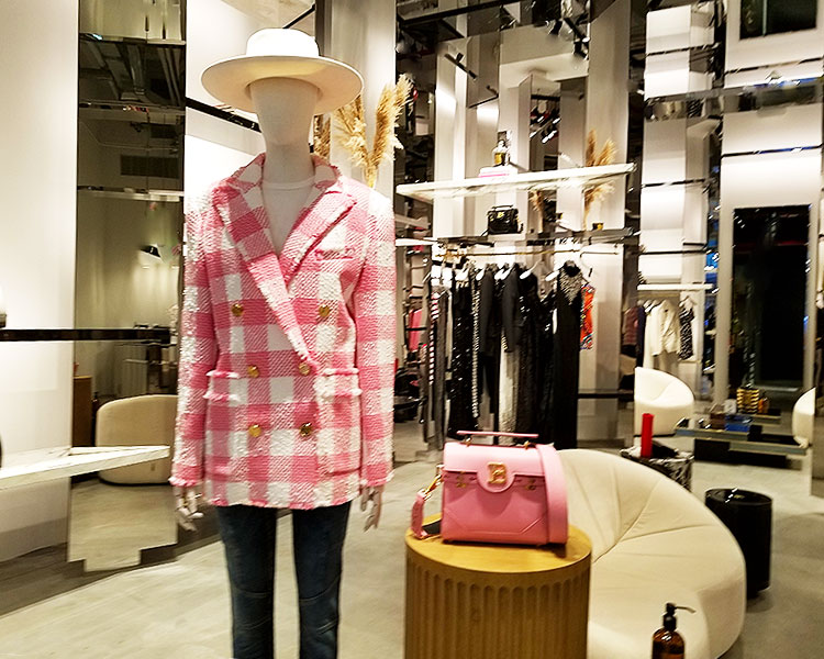Pink Statement Dressing