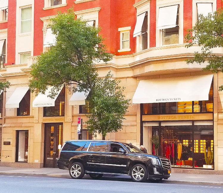 Bottega Veneta, 740 Madison Avenue.