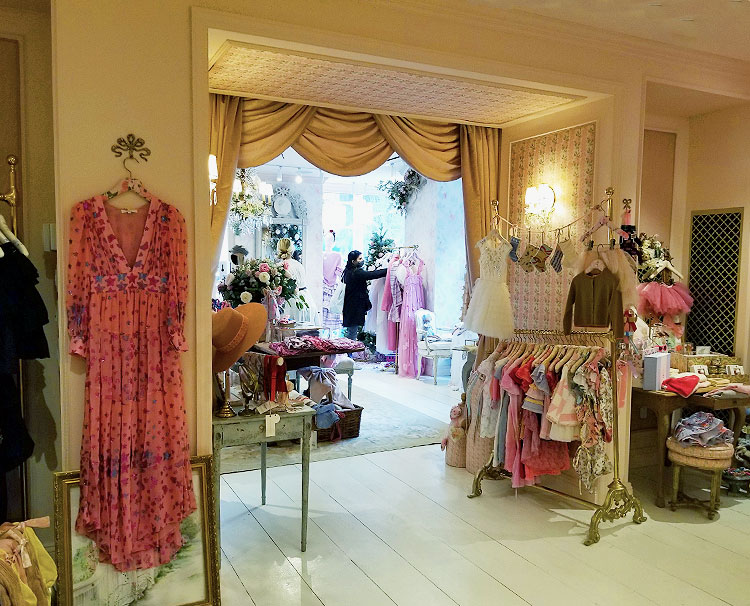 Children's Clothing Displayed in Style.