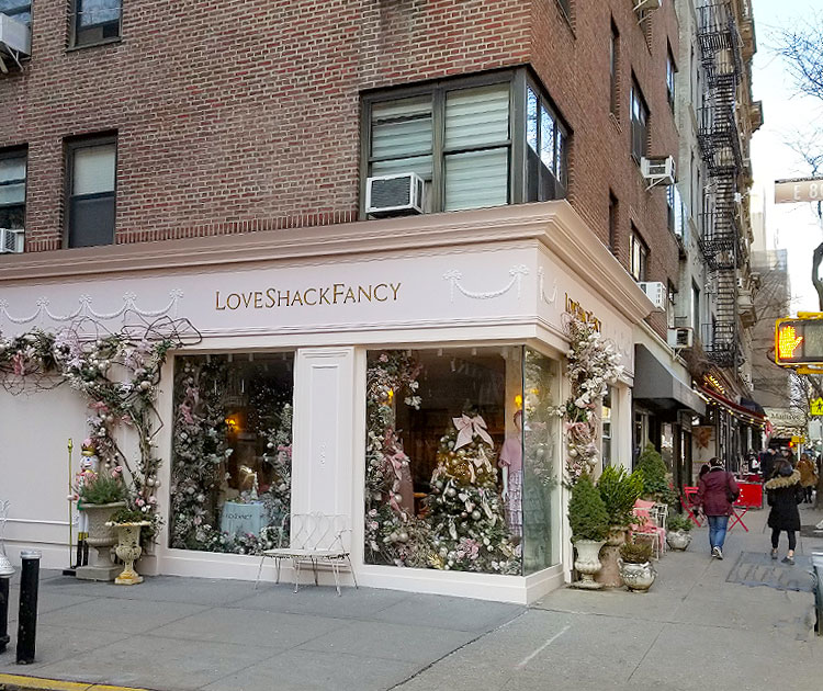 The Outside of The Boutique.