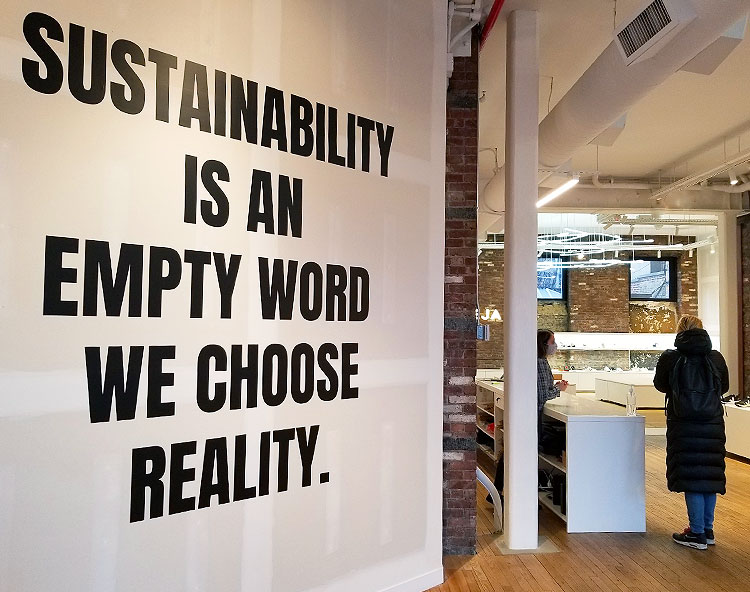 Veja Takes Sustainability Seriously.