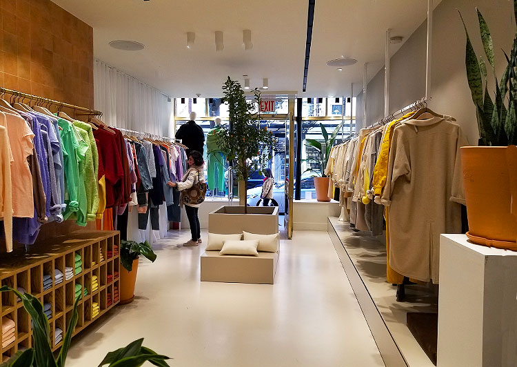 The Entryway of The Boutique.