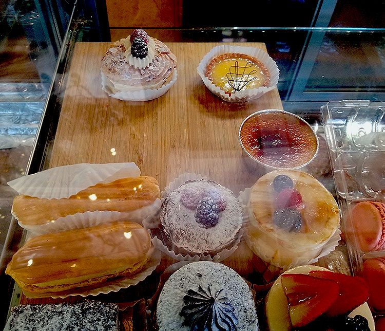 A Selection of Tarts and Pastries
