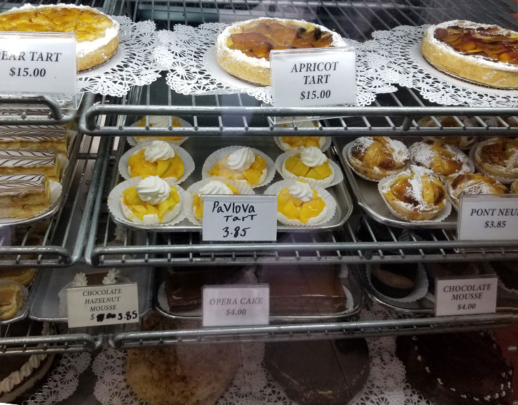 Tarts, Pastries and More.