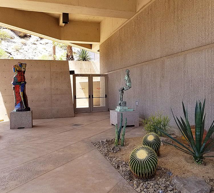 A Corner of The Sculpture Garden