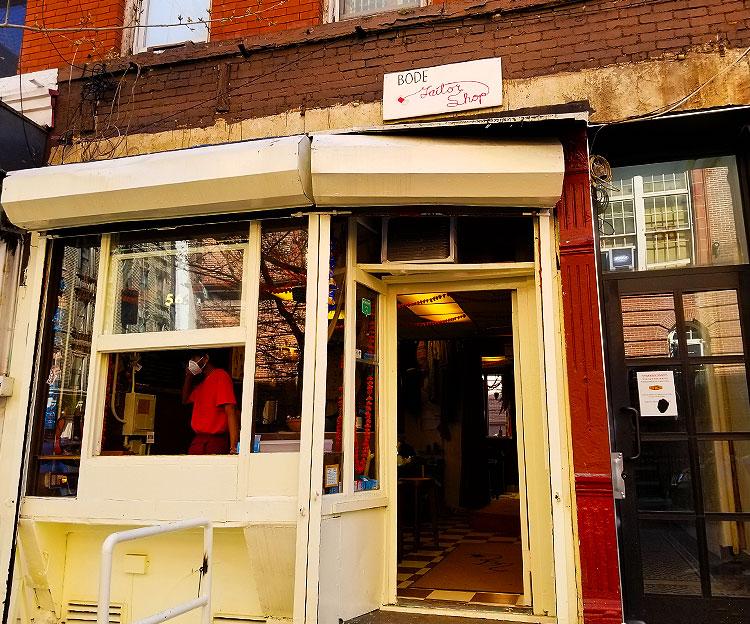Bode's Taylor Shop