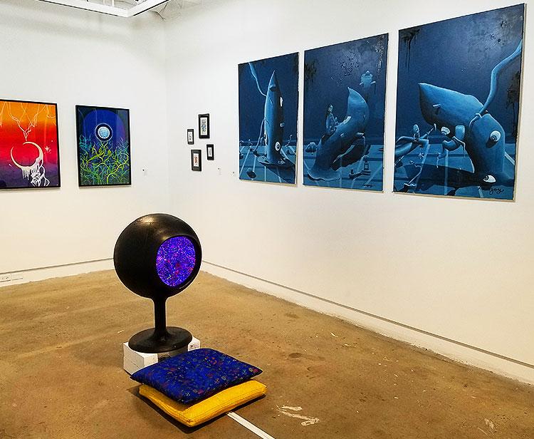 An Art Exhibit in NYC