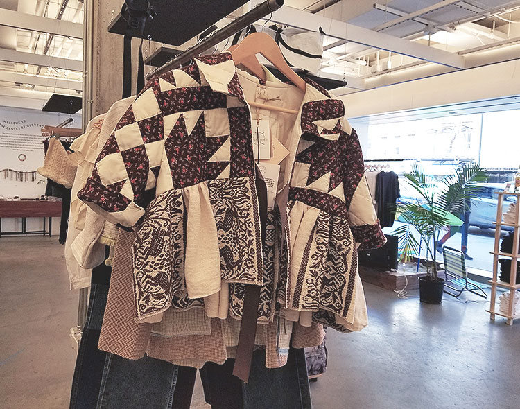 A Jacket Made From Quilts