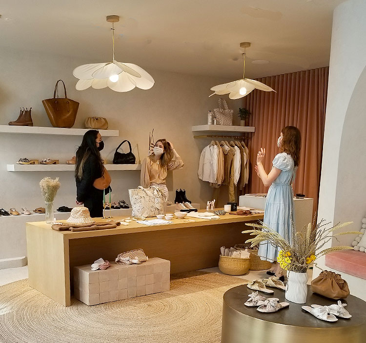 A View of The Boutique
