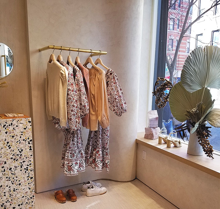 Clothing in The Window