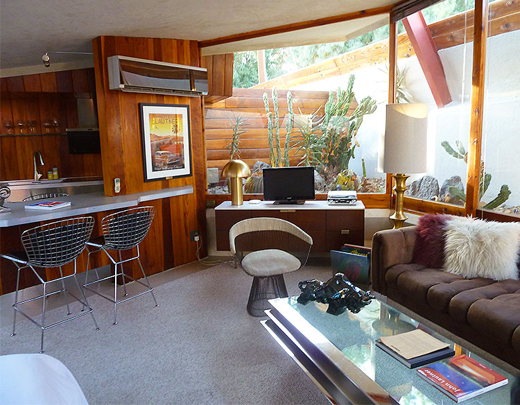One of the Suites in The Lautner