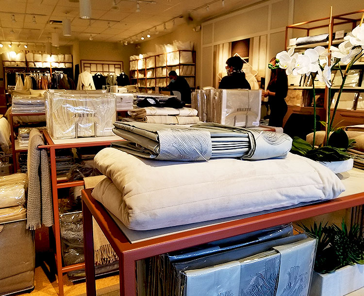 Sheets, towels and Other Goodies at Frette