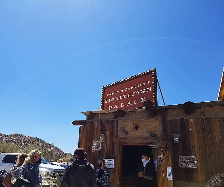 High Desert Favorite Pappy and Harriet's