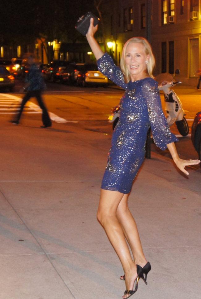 karen klopp, hilary dick, Sustainable fashion, New York Social Diary. rent the runway