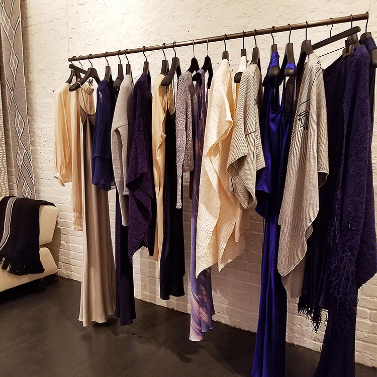 Shawls and Dresses in Soho