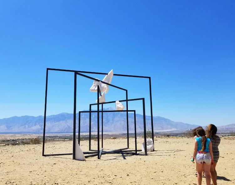 Parapivot outside Desert Hot Springs