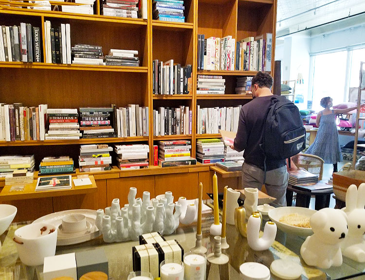 A Selection of Books and Decorative Items